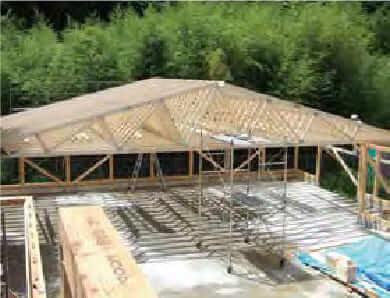 建物の信頼性を高めるトラス構造